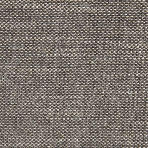 Banquette 2 places en hévéa massif blanc et tissu gris - Apolline