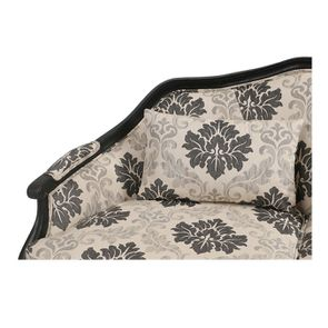 Banquette 3 places tissu arabesque - Constance - Visuel n°8