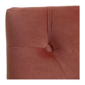 Banc ottoman en frêne et velours rose - Gaspard - Visuel n°9