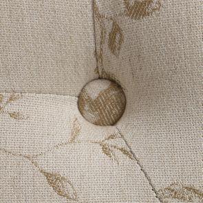 Banc ottoman en hévéa blanc et tissu paradisier - Gaspard - Visuel n°10