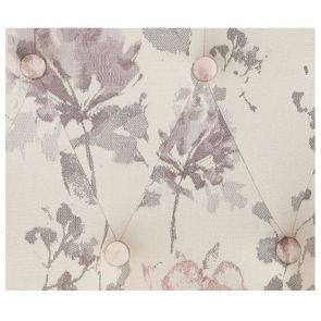 Fauteuil crapaud en tissu fleurs opaline - Bastien - Visuel n°4