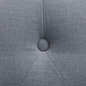 Fauteuil crapaud en tissu Vert sauge et pied gris argenté - Bastien - Visuel n°7
