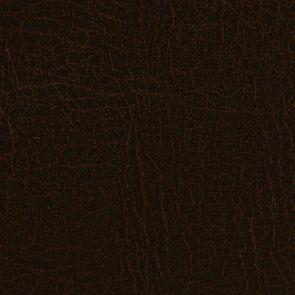Fauteuil crapaud en éco-cuir chocolat - Bastien - Visuel n°7