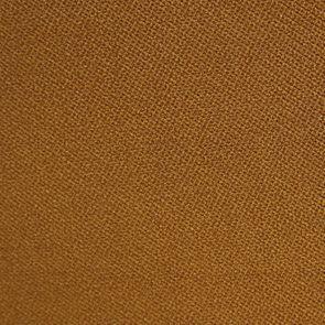 Fauteuil crapaud en tissu velours safran - Bastien - Visuel n°3