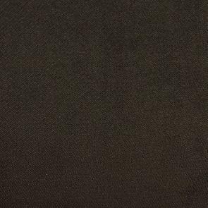Fauteuil crapaud en hévéa noir et tissu velours kaki - Bastien - Visuel n°7