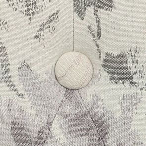 Fauteuil crapaud en tissu fleurs opaline - Bastien - Visuel n°10