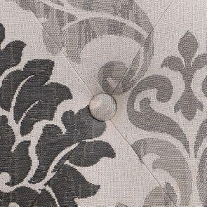 Fauteuil en tissu Arabesque et hévéa massif - Léopold - Visuel n°7