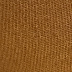Fauteuil en tissu velours safran et hévéa massif noir - Léopold - Visuel n°7