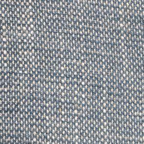 Fauteuil en tissu bleu chambray - Léopold - Visuel n°7