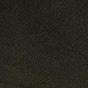 Fauteuil en hévéa noir et velours kaki - Louis - Visuel n°7