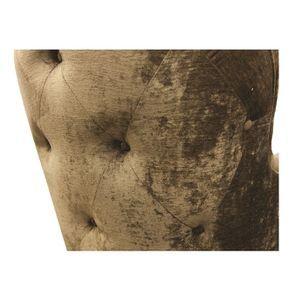 Fauteuil en tissu velours bronze - Oscar - Visuel n°14