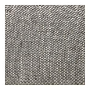 Fauteuil en hévéa et tissu gris chambray - Oscar