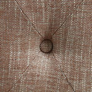 Fauteuil en frêne et tissu orange briqué - Oscar - Visuel n°12