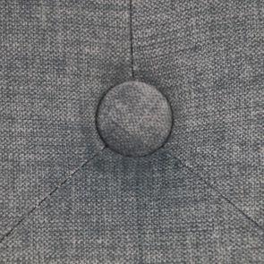 Fauteuil de table en tissu velours vert sauge - Joseph - Visuel n°10