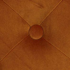 Fauteuil de table en tissu velours safran - Joseph - Visuel n°10