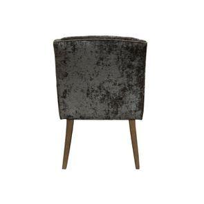 Fauteuil de table en velours bronze - Joseph - Visuel n°4
