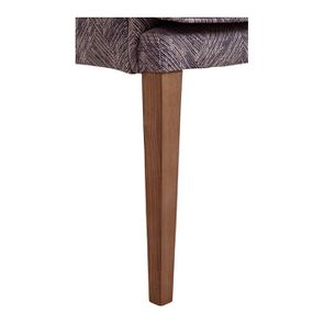 Fauteuil de table en tissu mosaïque indigo - Joseph - Visuel n°6