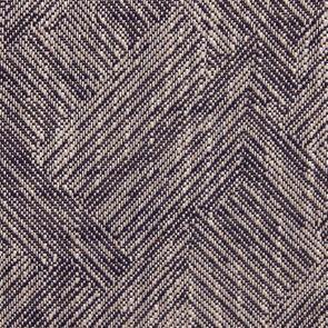 Fauteuil de table en tissu mosaïque indigo - Joseph - Visuel n°7
