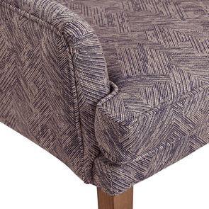 Fauteuil de table en tissu mosaïque indigo - Joseph - Visuel n°9