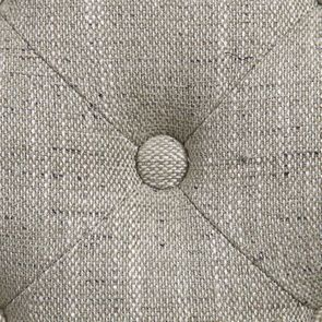 Fauteuil de table en tissu vert amande - Joseph - Visuel n°10