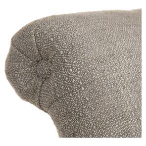 Fauteuil en tissu losange gris et frêne massif - Emile - Visuel n°38