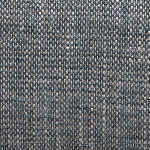 Fauteuil en tissu bleu chambray et frêne massif - Emile - Visuel n°7