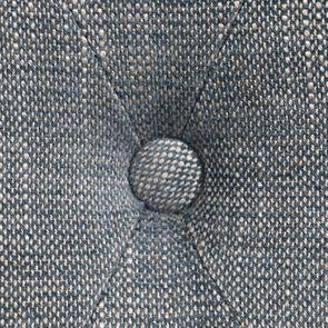 Fauteuil en tissu bleu chambray et frêne massif - Emile - Visuel n°11