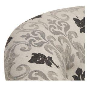 Fauteuil cabriolet en tissu arabesque - Théodore - Visuel n°9
