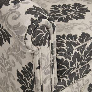 Fauteuil cabriolet en tissu arabesque - Théodore - Visuel n°10