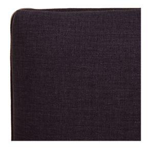 Banc ottoman en tissu anthracite - Gaspard - Visuel n°7