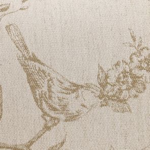 Banc ottoman en tissu paradisier - Gaspard - Visuel n°7