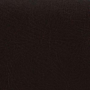 Chaise haute personnalisable en tissu éco-cuir chocolat - Visuel n°3