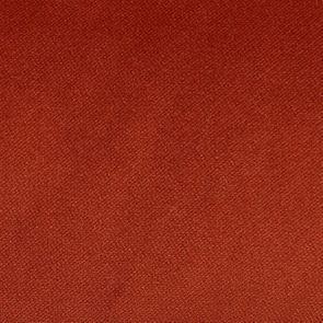 Chaise haute en velours rouille et hévéa massif noir - Ariane - Visuel n°7