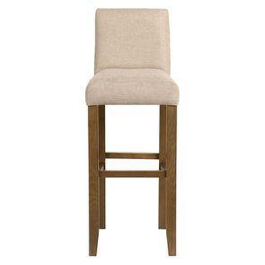 Chaise haute personnalisable en tissu ficelle