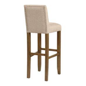 Chaise haute personnalisable en tissu ficelle - Ariane - Visuel n°4