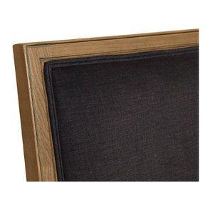 Fauteuil en frêne massif et tissu gris anthracite - Honoré - Visuel n°8