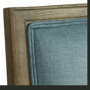 Fauteuil en frêne et tissu vert sauge - Honoré - Visuel n°4