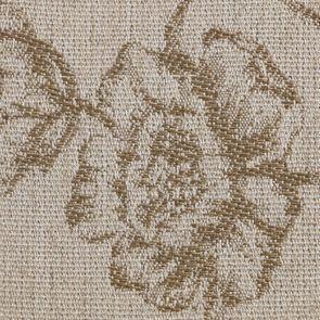 Fauteuil en tissu paradisier et hévéa massif blanc - Honoré - Visuel n°7