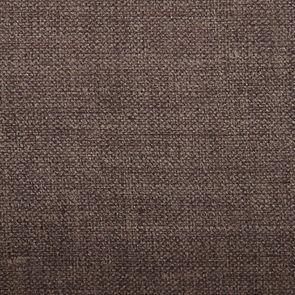 Banquette 3 places en hévéa noir et tissu marron glacé toucher velours - Constance - Visuel n°8