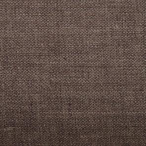 Banquette 3 places en hévéa noir et tissu marron glacé toucher velours - Constance - Visuel n°4