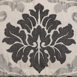 Banquette 3 places en hévéa et tissu arabesque - Constance - Visuel n°7
