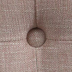 Tête de lit 140/160 cm cm en tissu vieux rose capitonné - Capucine - Visuel n°9