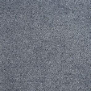 Banquette 3 places en hévéa gris argenté et tissu effet velours bleu gris - Léonie - Visuel n°4