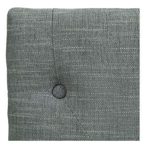 Banc en frêne et tissu gris chambray – Louison - Visuel n°3