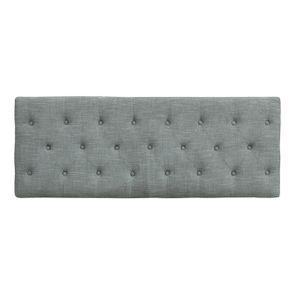 Banc en frêne et tissu gris chambray – Louison - Visuel n°5