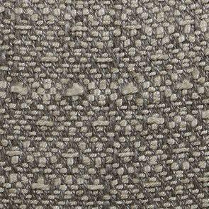 Banc en hévéa blanc et tissu losange gris - Louison - Visuel n°7