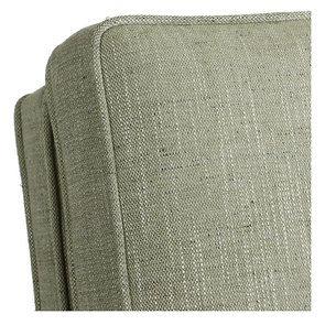 Rocking chair en tissu vert amande - Harold - Visuel n°8
