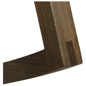 Rocking chair en tissu mastic grisé - Harold - Visuel n°6