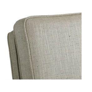 Rocking chair en tissu mastic grisé - Harold - Visuel n°8