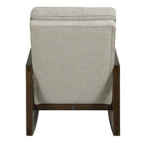 Rocking chair en tissu mastic grisé - Harold - Visuel n°5